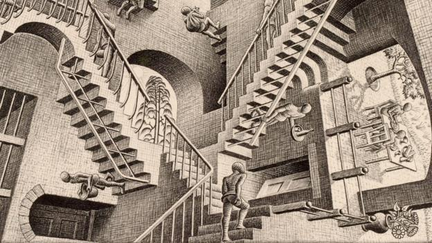 Self-service sometimes feels like an MC escher painting but you must embrace the chaos!