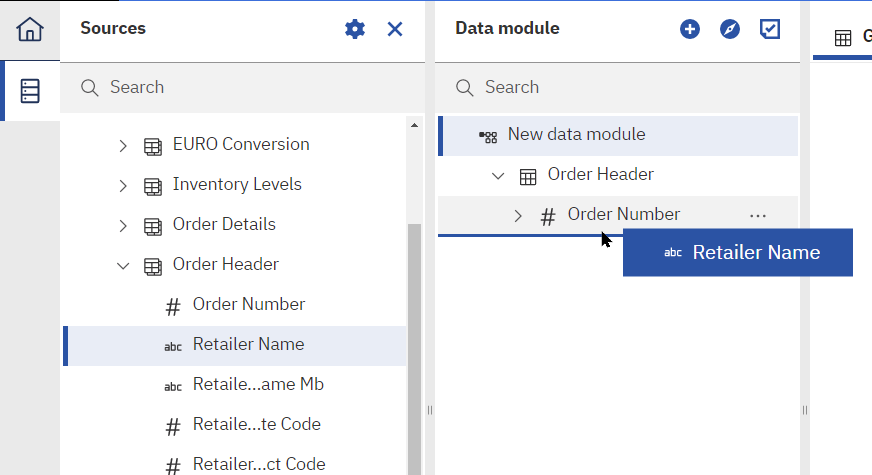 The ability to add individual fields to a data module rather than entire tables is a game changer