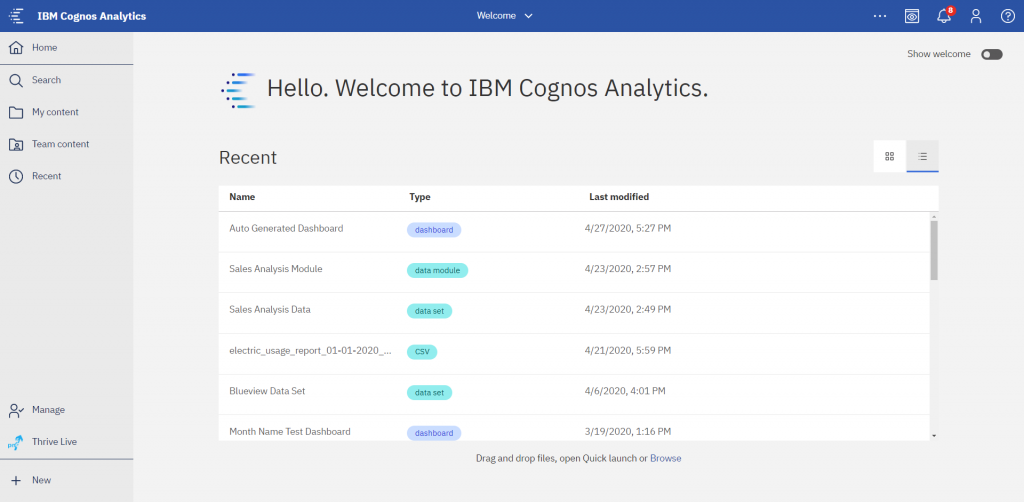 Cognos Analytics 11.1.6 brings updates to icons, fonts and other items